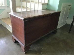 Antique Civil War Era Blanket Chest