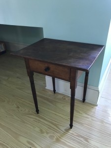 Early Single Drawer Stand