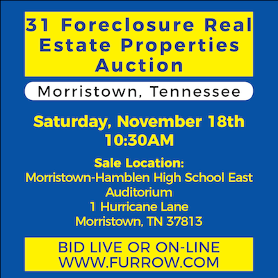 31 Foreclosure Real Estate Auctions