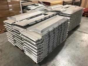 21 Galvanized Shingle Inventory