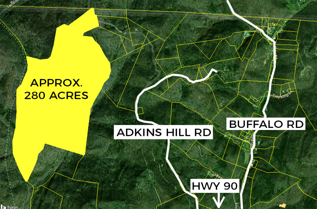 ABSOLUTE AUCTION: Approx. 280+- Acres of Pristine Land in Claiborne County