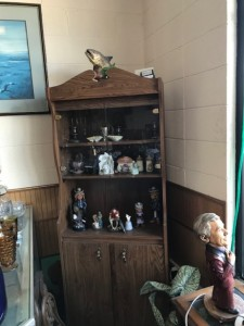 Cabinet and Collectibles
