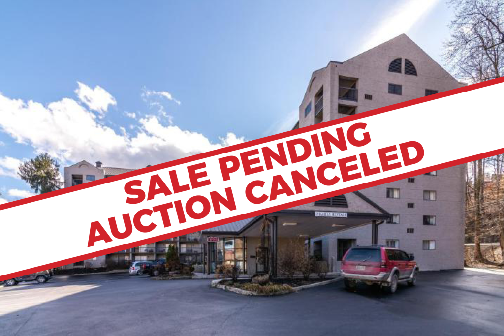 Sale Pending Auction Canceled – Absolute Real Estate Auction – Four Income Producing Condominiums in Olde Gatlinburg Place
