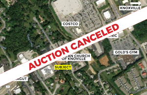 Farlow Auction Cancelled