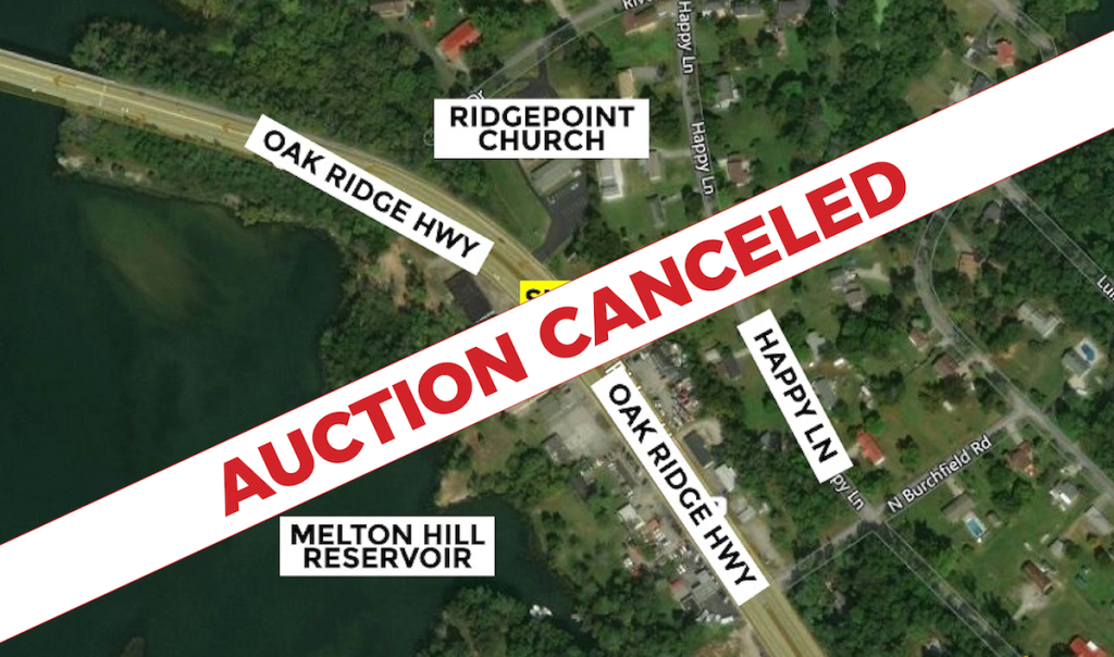AUCTION CANCELED – Real Estate Auction – Adjoining Commercial Lots to be Sold As One