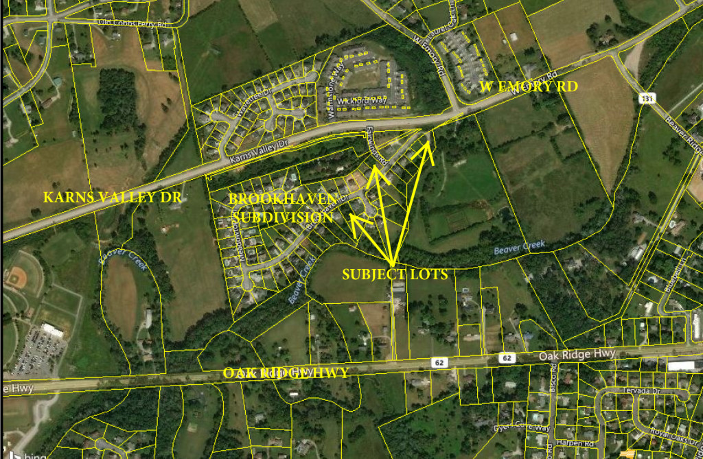 Absolute Real Estate Auction – 3 Residential Lots in Brookhaven Subdivision