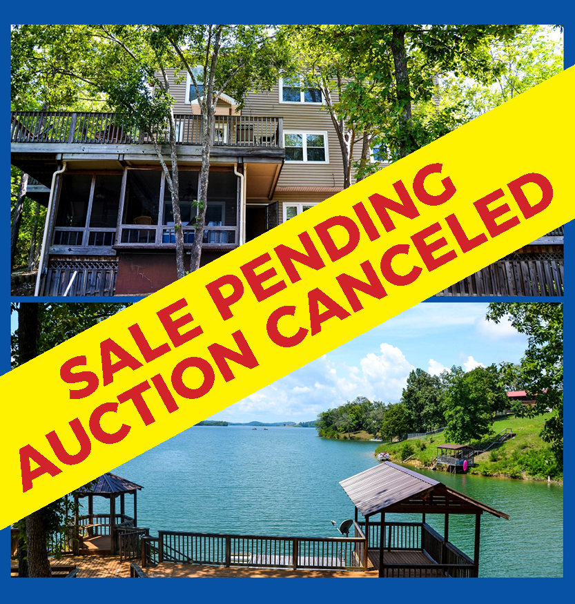 Auction Canceled – Sale Pending – Absolute Real Estate Auction – Beautiful Home on Douglas Lake