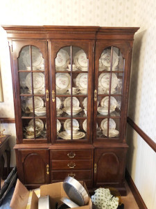 1 of 2 Drexel China Cabinets