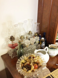 Oil Lamps and Decanters
