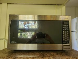Lot 3 Stainless Steel Microwave