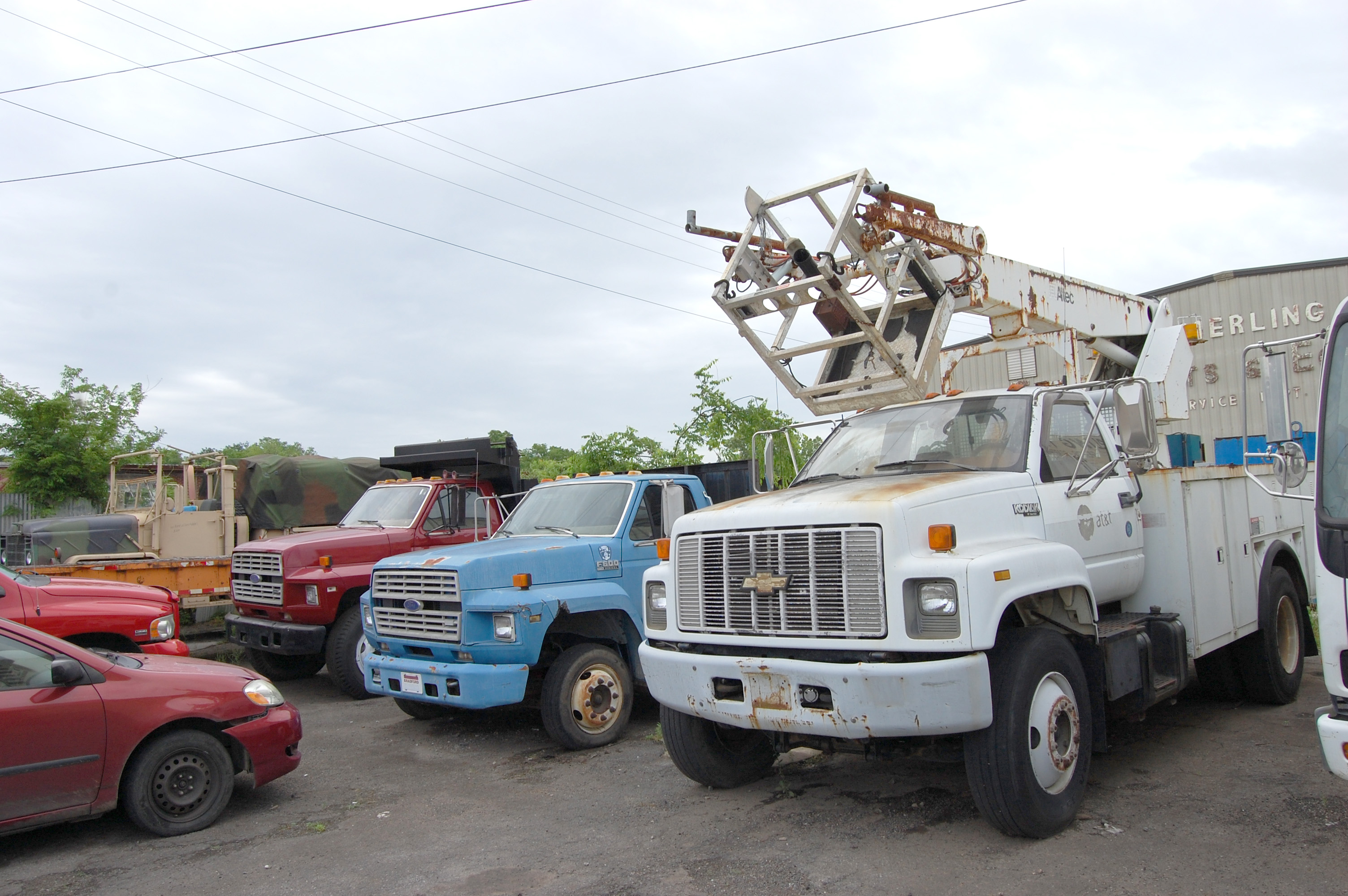 ENDED – Absolute Auction Kimerling Truck Parts – Day 2 – Rolling