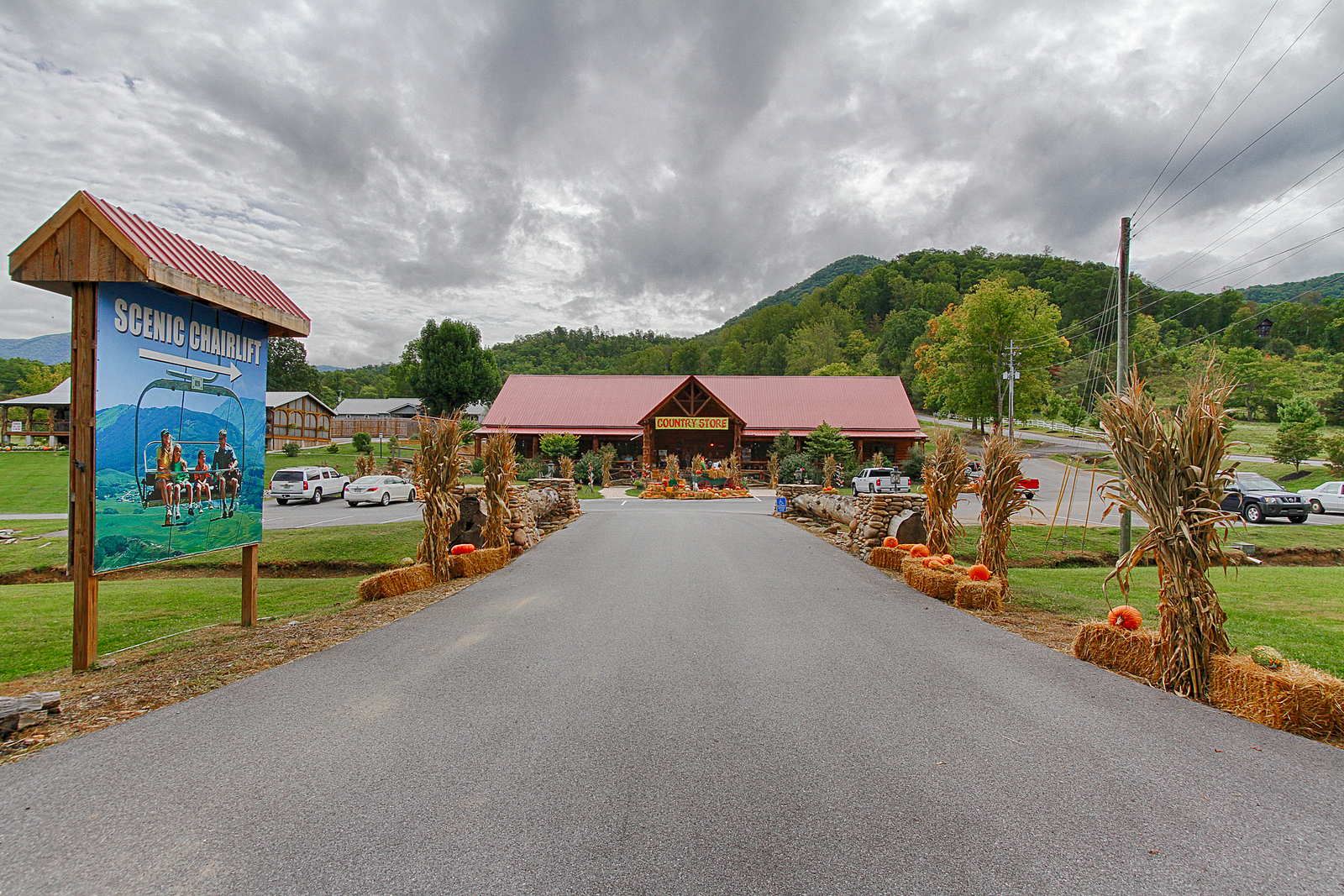 sold – absolute real estate auction – 65 acres smoky mountain resort